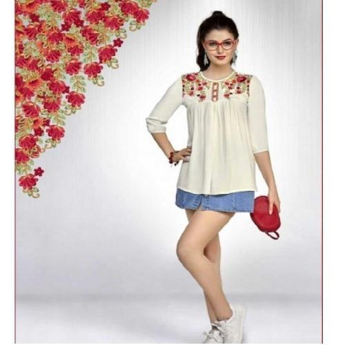 premium casual western wear tops at rs 467 piece fashion top id