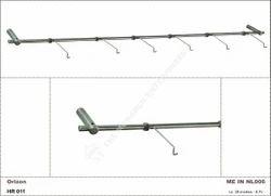 Horizontal Non Lockable Spectacles Sunglass Display Holder Rod