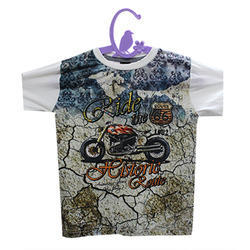Half Sleeve Kids T-Shirt Digital Printing Service