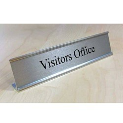 Aluminum Anodised Name Plate