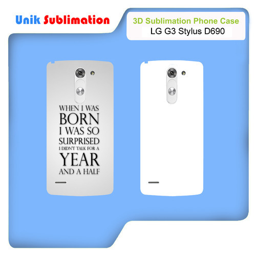 3D Sublimation Mobile Cover For Lg G3 Stylus D690