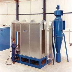 EVERSHINE MS Powder Spray Booth, Fully Undershot Type, Automation Grade: Semi-Automatic