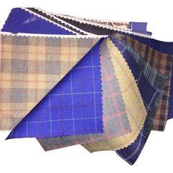 Checkered Suiting Fabric