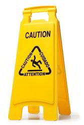 Floor Caution Sign