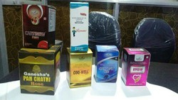 Cardboard Pharmaceutical Packaging Boxes, Square, Material Thickness: 0-3 mm