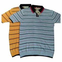 Half Sleeve Cotton Mens Polo T Shirt