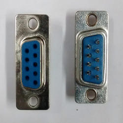 9- Pin- Female- D Type- Connector