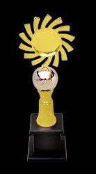 Golden (Gold Plated) Surya Metal Globe Trophy