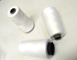Polyester White Yarn, Count : 10 - 60