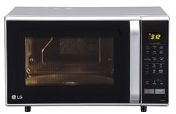 LG Convection 28 Litre Convection Microwave Oven Silver
