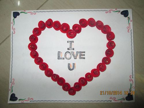 Products services manufacturer from parkal roses heart shaped greeting card m4hsunfo
