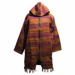 Chest-25, Length-32 Ladies Woolen Jacket