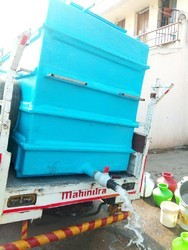 Mobile Water Tank FRP