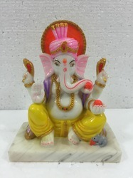 Ganpati Marble God Idols