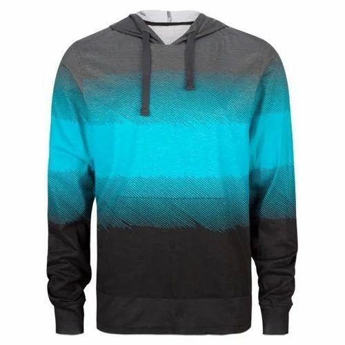 Cotton Linen Mens Hooded T Shirt 0d71071b2