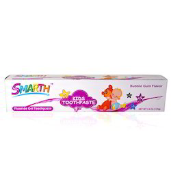 Smarth Kids Gel Bubble Gum Flavour Toothpaste 4.4 Oz -125g