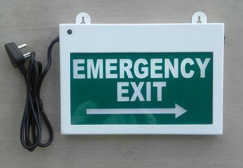 3 Watt Emergency Exit Signage  Rs 1706   Piece  Steam