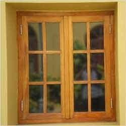 Wooden Windows Frame