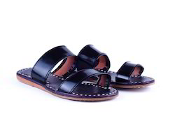 M B Exports Flats Leather Slippers