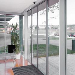 Automatic Sliding Door with Slender Profile