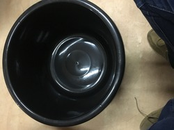 Plastic Black Tub