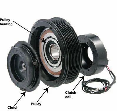air conditioning compressor clutch assembly car air 2007 dodge ram 1500 a c compressor schematics ac compressor clutch schematic #12
