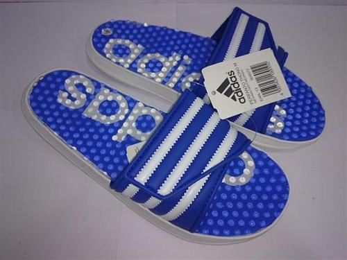 9fbe82873a57 Blue And White Men Adidas Slippers