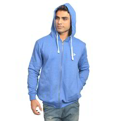 Blue Zipper Hoodies