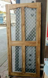 Wooden Mosquito Net Door & Mosquito Net Door Manufacturers Suppliers u0026 Dealers in Indore ...