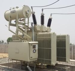 Dry Type Three Phase Electrical Power Transformers , Voltage : 110 KV