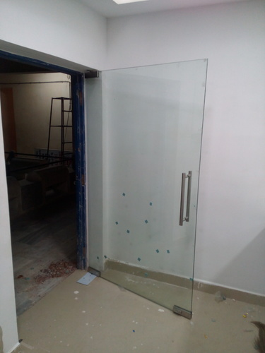 Clear Interior Frame Less Glass Door Rs 725 Square Feet Global Glass Technologies Id 11680161573