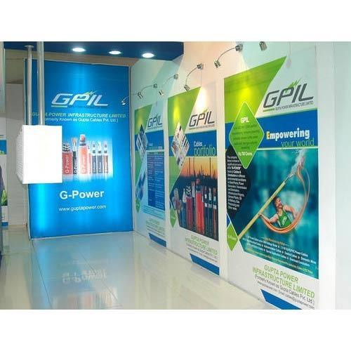 Portable Exhibition Display : Portable exhibition stall for exhibition display solutions rs