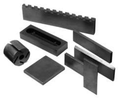 Rubber Industry Lubricating Graphite Blocks