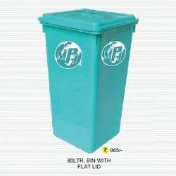 Flat Lid Waste Bin