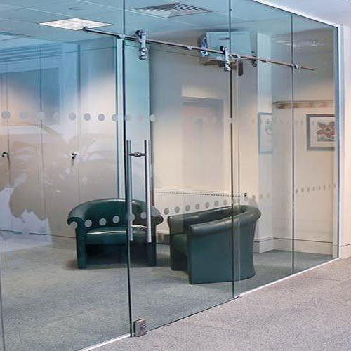 Hinged Frameless Glass Doors Size Dimension 1 2x2 1m Rs