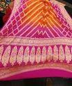 Pure Bandhej Sarees