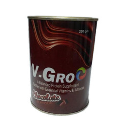 V-Gro Balance Protein Supplement Fortified Essential Vitamins Minerals, NN Remedies, Packaging Type: Box