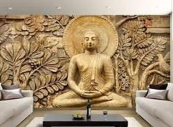 Buddha Wall Mural