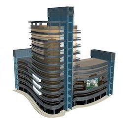 Commercial Building Models for Exhibition