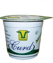 Cup Curd 60gm and 125 gm cups