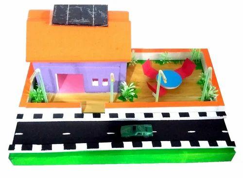 Solar House Model