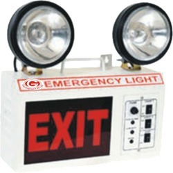 GTFE Emergency Light with LED Bulbs