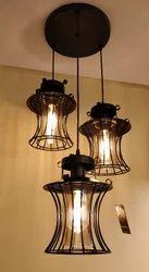 Warm White LED Edison Bulb Hanging Lights, 4-8W