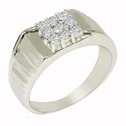 SHRI0584 925 Silver Gents Ring