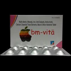 BM-Vita Tablet Essential Trace Elements & Macro Tablets, Prescription, Treatment: Cure Lack Of Deficiences