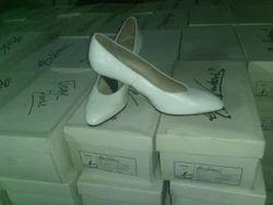 White Oh la la Ladies Shoes