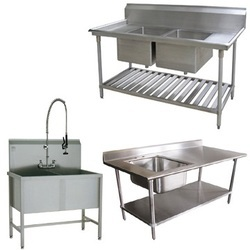 Ss Mat Finish Stainless Steel Sink Unit, Sink Shape: Square, Shape: Square