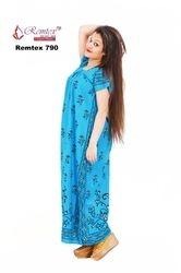 Full Length D to D Cotton Karola Gown