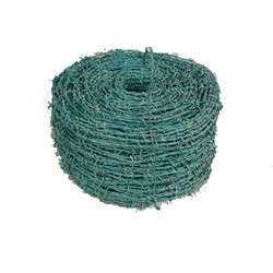 Mild Steel PVC Coated Barbed Wire, for Fencing