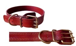 Handmade Leather Dogs Collars